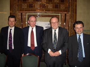 Carne Ross, Malcolm Rifkind, Michael Ancram and Oliver Kamm