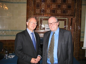 Sir Roderic Lyne, KBE, CMG - British Ambassador to Russia 2000-2004 and Michael Ancram MP