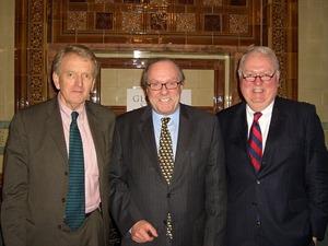 Sir Christopher Meyer, Michael Ancram MP and Bill Barnard