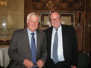 The Rt Hon Lord Patten of Barnes and Michael Ancram MP, GSF Chairman