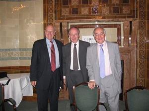 Ambassador Thomas Pickering, Sir Malcolm Rifkind MP and Michael Howard MP