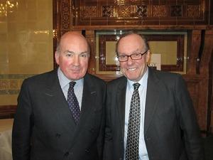 General Sir Richard Dannatt and Michael Ancram MP