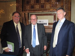Dr Stefan Halper, Michael Ancram and Nigel Inkster