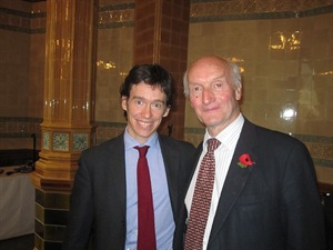 Rory Stewart MP, with Lord Anderson of Swansea, who chaired the event