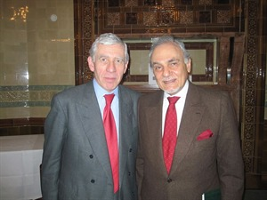 HRH Prince Turki Al-Faisal with the Rt Hon Jack Straw MP