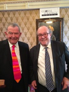 Professor Anthony King and Lord Lothian