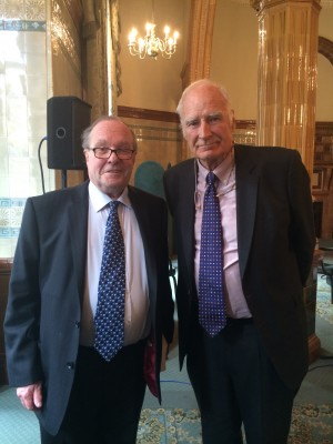 Lord Lothian and Peter Snow