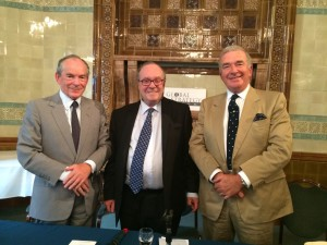 Sir Simon Jenkins, Lord Lothian and Lord West