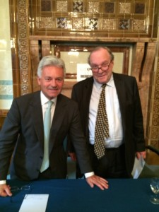 Rt Hon Alan Duncan MP and Lord Lothian