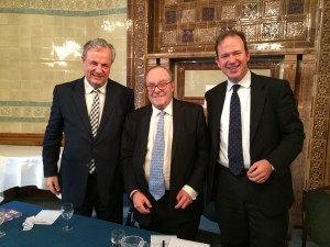 James Gray MP, Lord Lothian and Jesse Norman MP