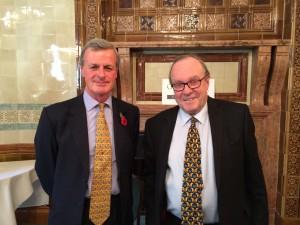 Sir Richard Shirreff and Lord Lothian