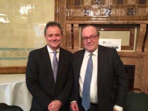 Professor Jeremy Farrar and Lord Lothian