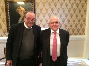 Lord Lothian and Martin Wolf